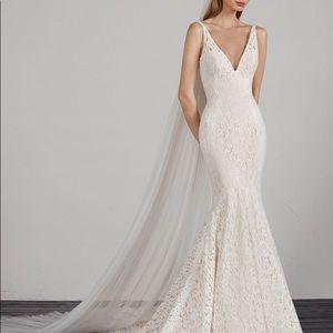 Pronovias Mosaico Wedding Dress